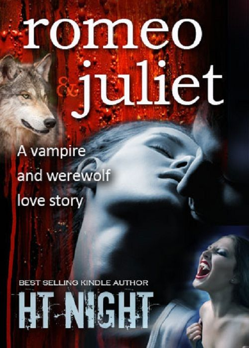 Love Story Book Cover Design : Romeo juliet a vampire and werewolf love story lousy