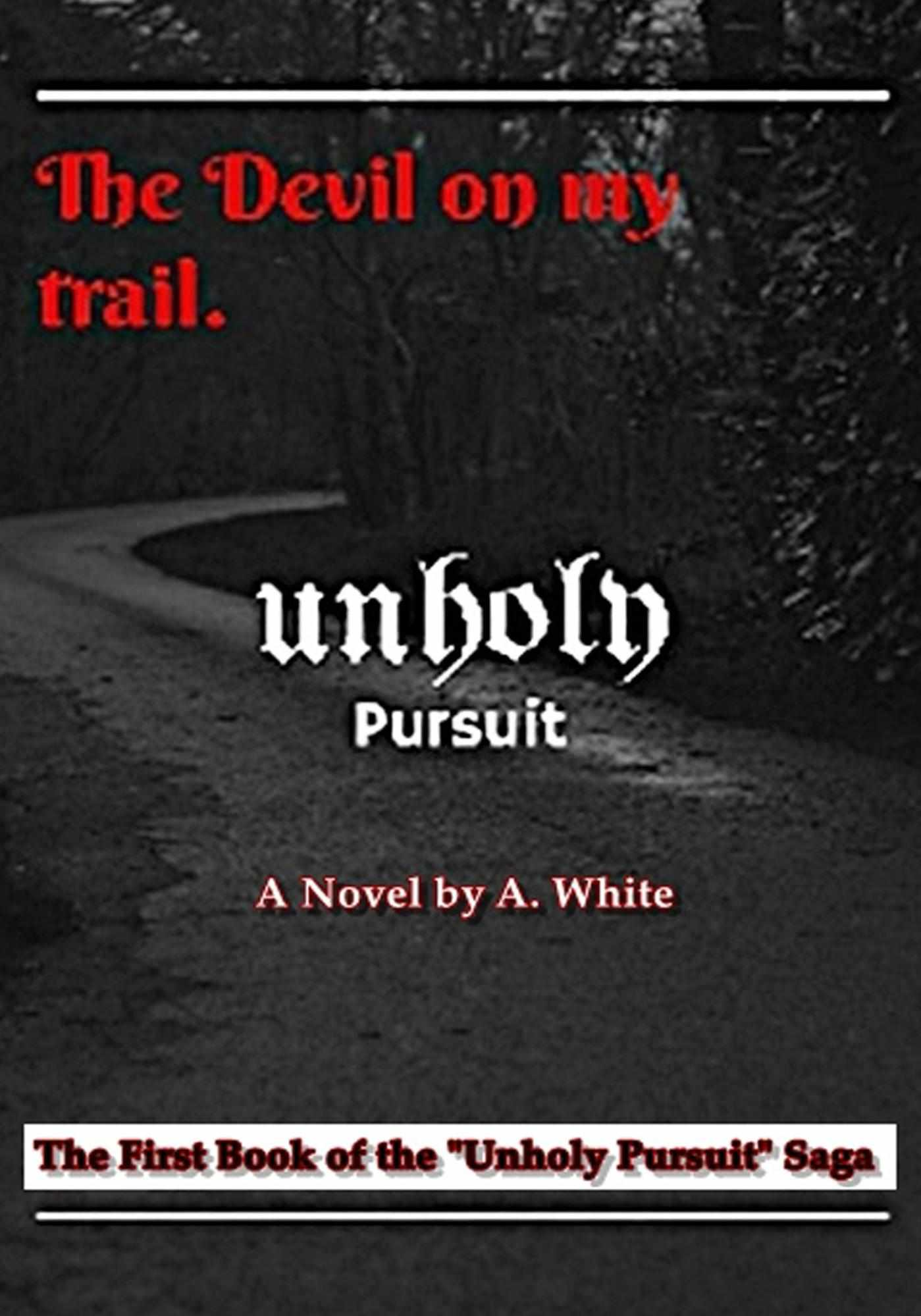 lousy book covers page just because you can design your own unholy pursuit the devil on my trail